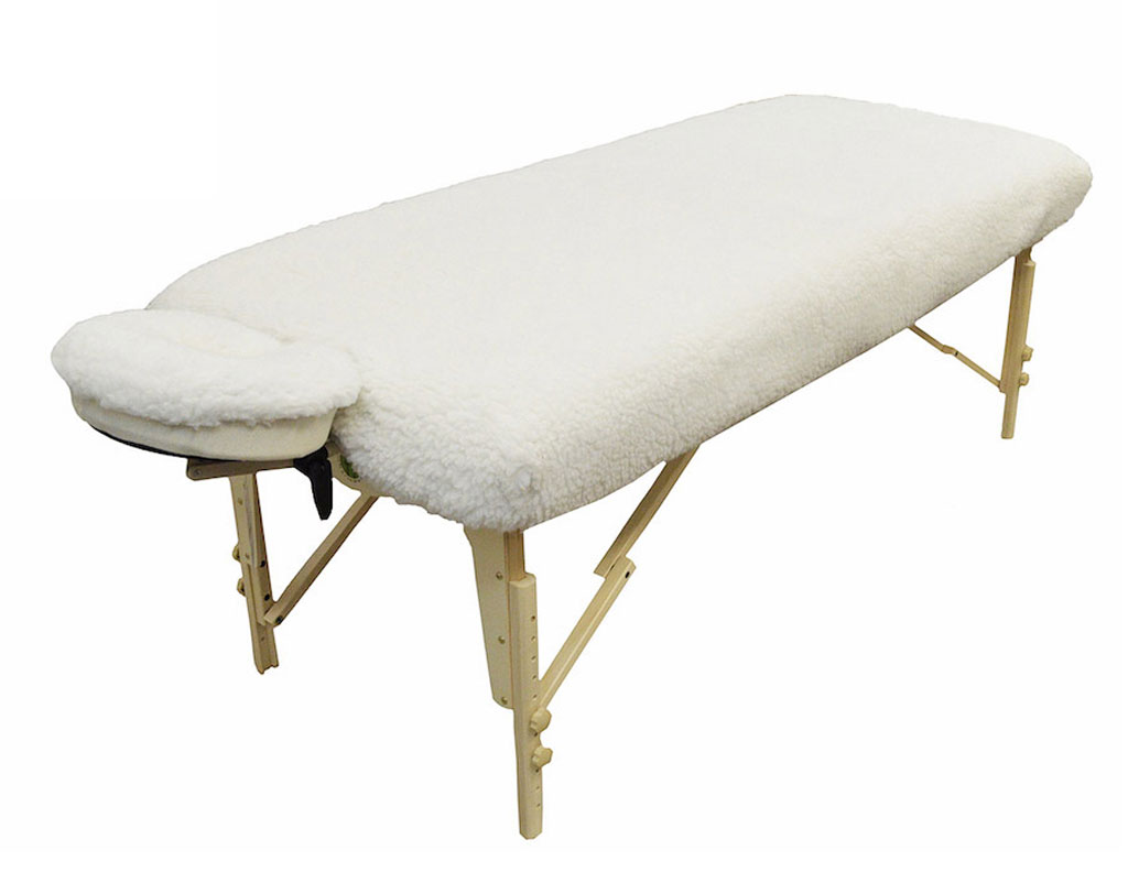 massage table fleece set deluxe 2 pc spa face sheet cover pad super